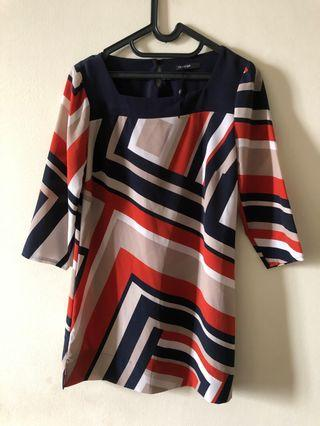Blouse Atasan M&S Abstract #VISITSINGAPORE
