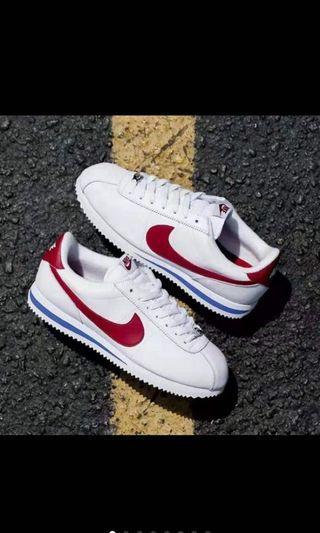 Nike 阿甘(白紅)25