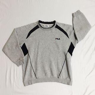 FILA Quilted Sweatshirt