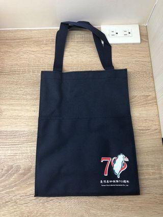 臺灣產物保險帆布手提袋 環保袋  耐用手提袋