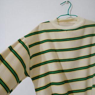 冬季條紋長袖