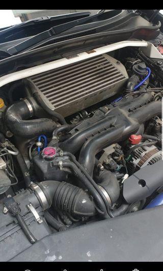 Process Wesr Subaru Ver 10 intercooler