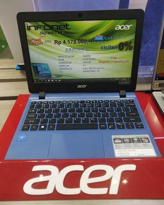 Kredit laptop Acer Aspire 3 celeron n4000