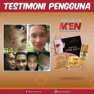 SKINCARE FOR MEN KARISMA😎