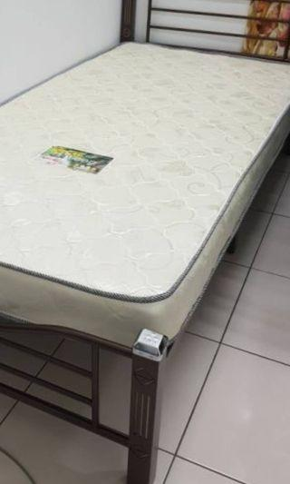 "5 inches thick Single mattress sleep tilam (5"" inci) Pure compressed Rebond Foam"