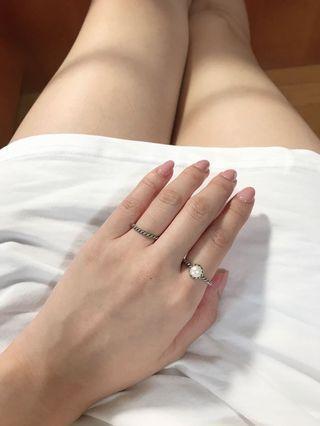 簡約百搭純銀戒指