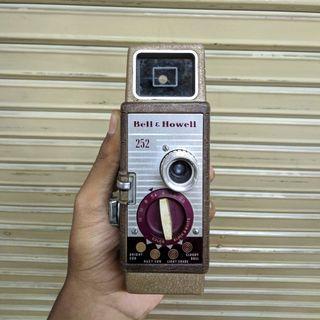 Vintage Bell & Howell 252 Film Camera