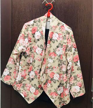 Floral Outer Nude