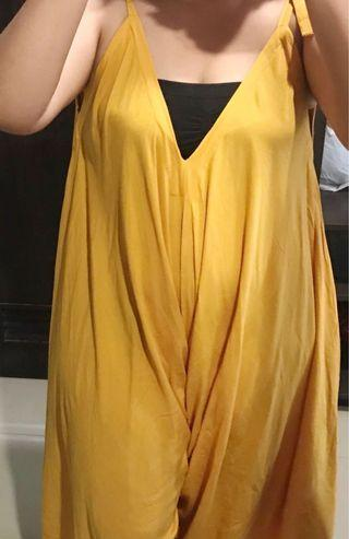 Mustard Summer Jumpsuit