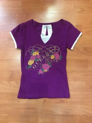 Guess Girl Tee (Purple)