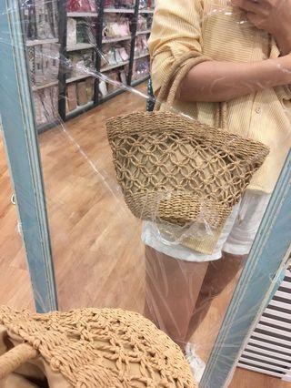 Scandinavia straw handbag