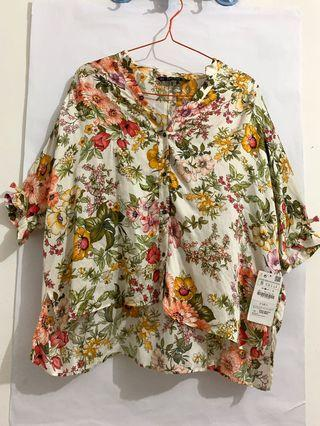 ZARA SUMMER TOP NEW ORIGINAL STORE WITH TAG