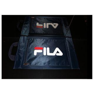 FILA 藍色鞋品收納包~文件包