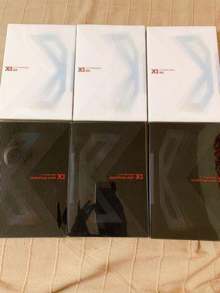 X1 ALBUMS