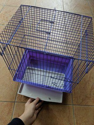 Cage for bird hedgehog sugar glider