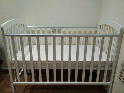 Baby Cot with mattress