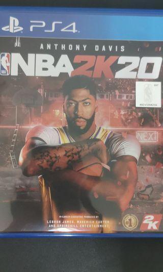 NBA 2k20 ps 4 game