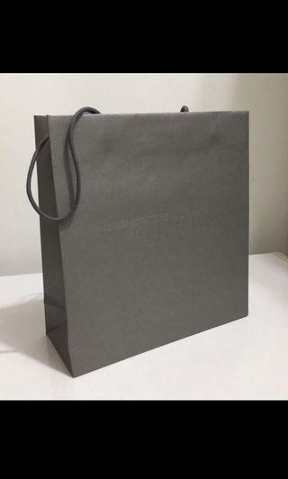 ALEXANDER MQUEEN alexander mcqueen 紙袋/禮品袋/手提袋 灰色