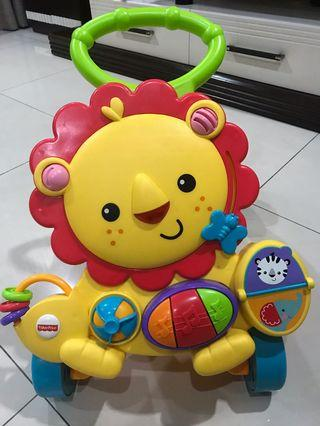 Authentic Fisher Price Lion Walker