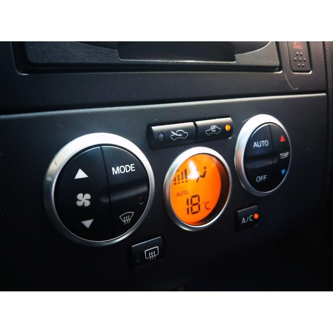 2006 日產 TIIDA 一手車 頂級配備 有IKEY 電動天窗  恆溫 倒車雷達