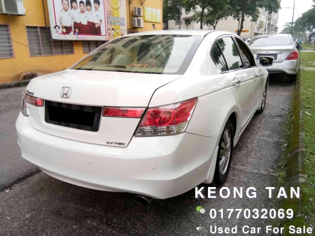 2010TH HONDA ACCORD 2.0AT L I-Vtec AddOn Full Bodykit🚘Cash💰OfferPrice💲Rm42,800 Only‼Lowest Price InJB 🎉Call📲 KeongFor More‼🤗