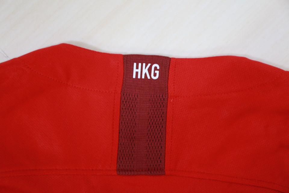 2018/20 Nike Hong Kong Football Team HKG Home Jersey 香港隊主場波衫