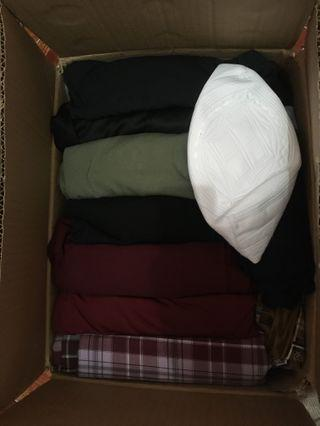 Clothes to donate