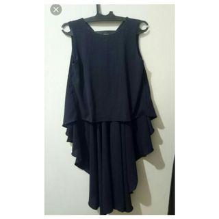 Dress crop navy