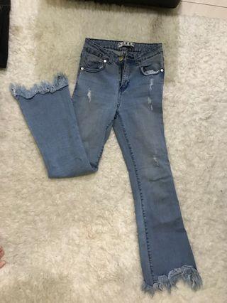 Jeans cutbray