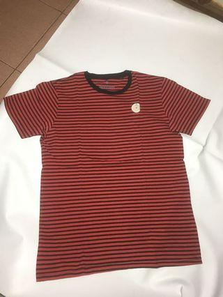 Red Stripe Tee