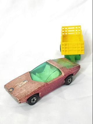 Vintage 1970s Pontiac diecast