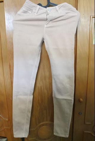 Mango Dusty Pink Jeans