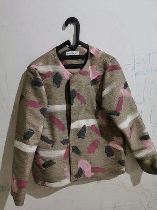 Cottonink Jacket Special Edition Pink Strokes