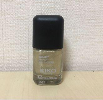 KIKO 義大利品牌 香檳銀 7ml 九成新 台北可面交