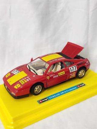 NOS Vintage 1989 Ferrari 348 diecast