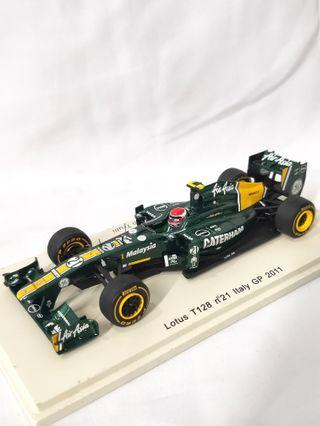 Rare Lotus F1 team caterham diecast