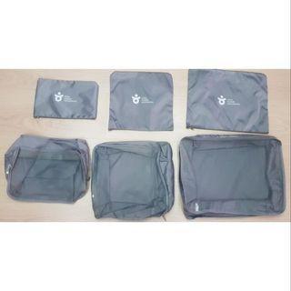 全新韓版旅行收納六件組/行李袋/收納包
