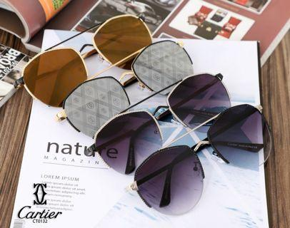 *New Arrival*  Terbaru Lagi  New Arrival  *Kacamata CARTIER  CT0132 #* 4 warna Quality Semi Ori