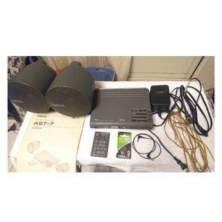 日本製 山葉 YAMAHA AST-R7 桌上型收音擴大機 音響系統 可連接電腦輸出