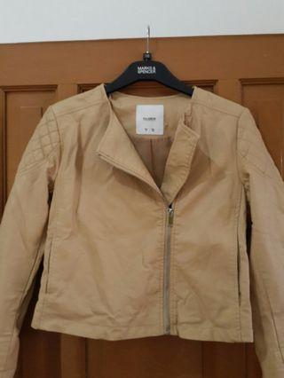 Leather jacket (jaket kulit) pull & bear original