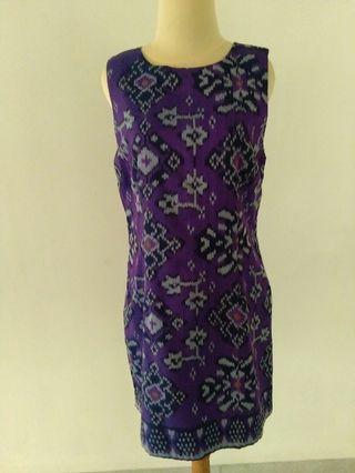 WIN  TRIP TO #VISITSINAPORE                                     Dress Batik Tenun Bali