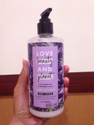 Love Beauty and Planet Lavender Body Lotion