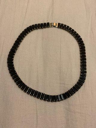 韓國 寶石頸鏈