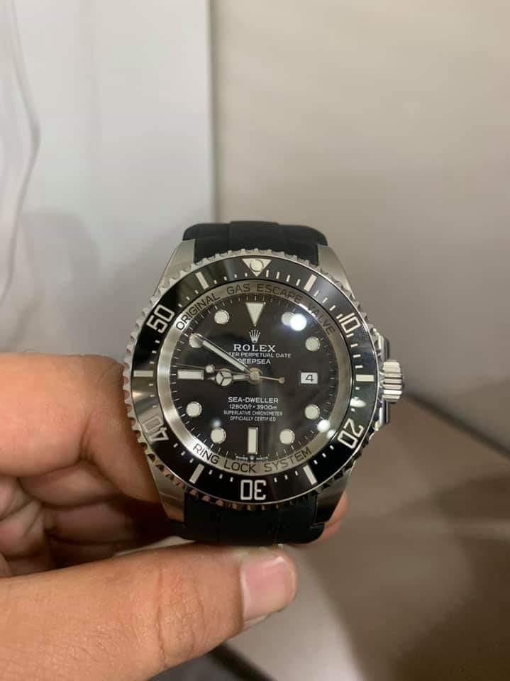 【已交流】勞力士 126660 水鬼王 ROLEX DEEP SEA 黑水鬼 非 116660 DB