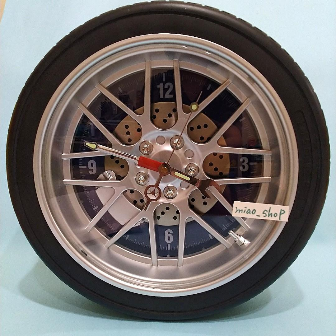 輪胎時鐘 全新