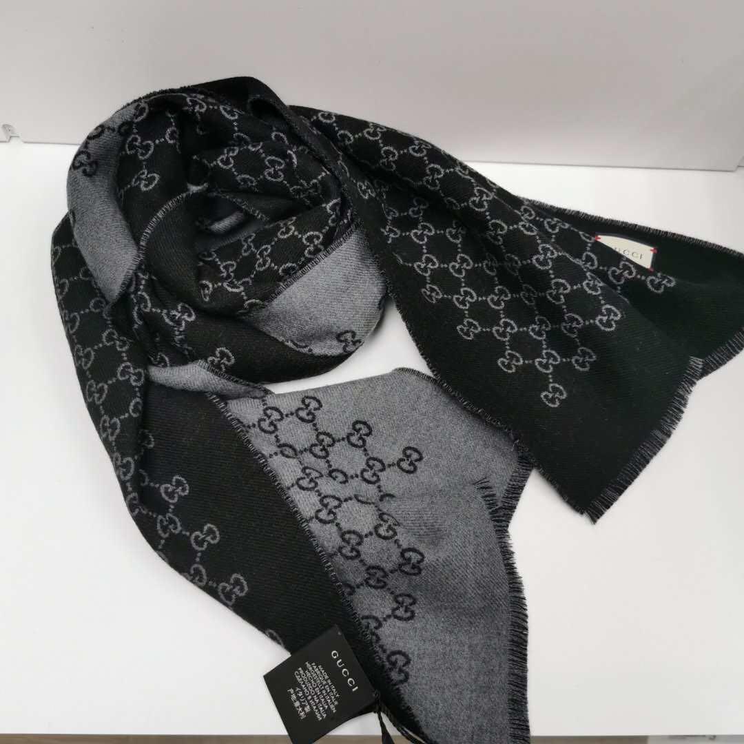 (現貨) Gucci scarf 羊毛頸巾