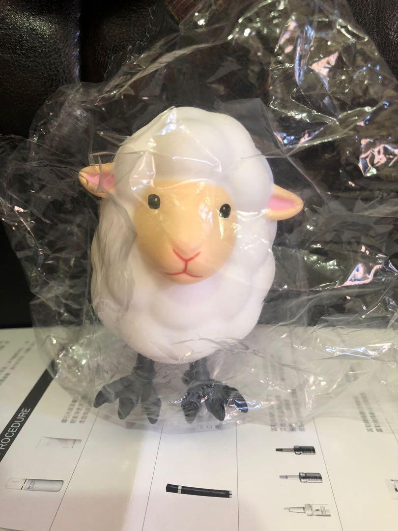 全新可愛小羊&多拉a夢公仔