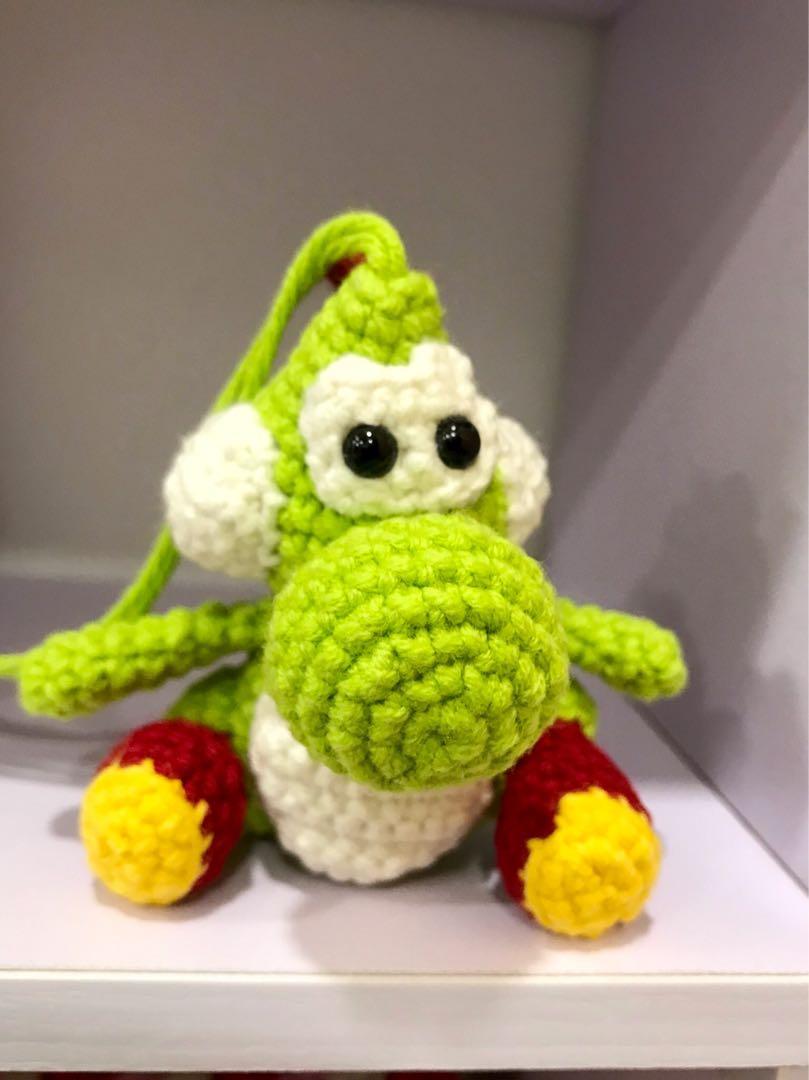 Yoshi Crochet | Amigurumi pattern from robotrish.com. It too… | Flickr | 1080x809