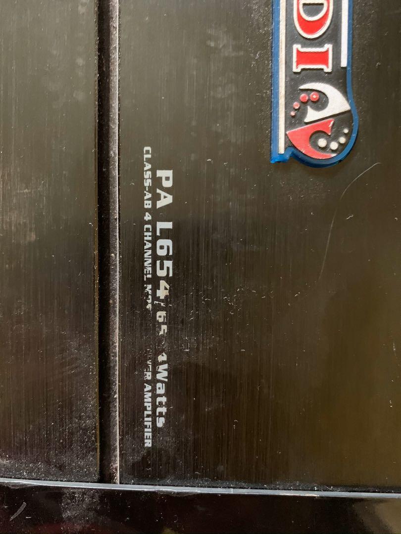 Amplifier 4ch