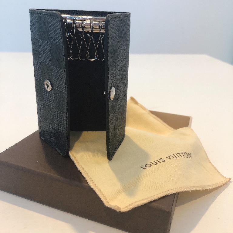 Authentic Classic Louis Vuitton Monogram Multicles 6 Key Holder